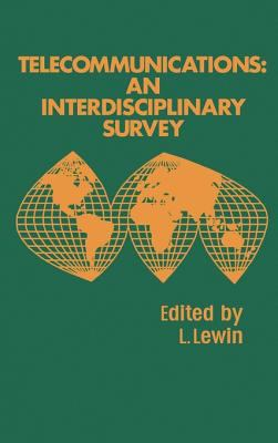 Cover image for Telecommunications : an interdisciplinary survey