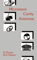 Cover image for Microwave cavity antennas