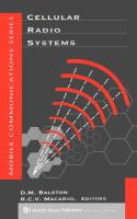 Cover image for Cellular radio systems