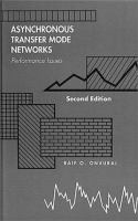 Cover image for Asynchronous transfer mode networks : performance issues