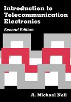 Cover image for Introduction to telecommunication electronics