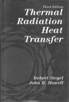 Cover image for Thermal radiation heat transfer
