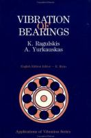Cover image for Vibration of bearings