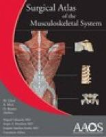 Cover image for Surgical atlas of the musculoskeletal system