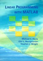 Cover image for Linear programming with MATLAB