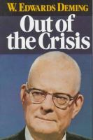 Cover image for Out of the crisis : quality, productivity and competitive position
