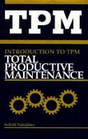 Cover image for Introduction to TPM : total productive maintenance