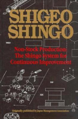 Cover image for Non-stock production the Shingo system for continuous improvement