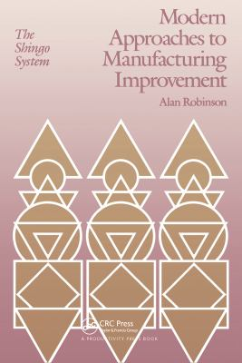 Cover image for Modern approaches to manufacturing improvement : the Shingo system
