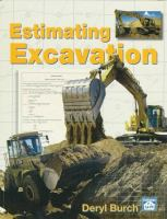 Cover image for Estimating excavation