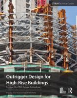 Cover image for Outrigger design for high-rise buildings : an output of the CTBUH Outrigger Working Group