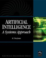 Cover image for Artificial intelligence : a systems approach