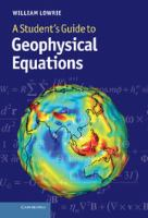 Cover image for A Student's guide to geophysical equations