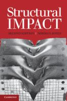 Cover image for Structural impact