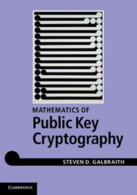 Cover image for Mathematics of public key cryptography