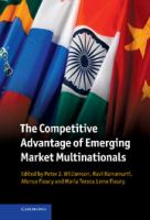 Cover image for The competitive advantage of emerging market multinationals
