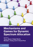 Cover image for Mechanisms and games for dynamic spectrum allocation