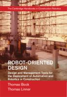 Cover image for Robot-oriented design and management