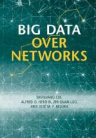 Cover image for Big Data over Networks