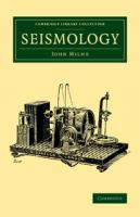 Cover image for Seismology