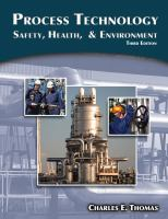 Cover image for Process technology : safety, health and environment