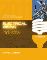 Cover image for Electrical wiring, industrial