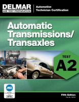 Cover image for Automatic transmission transaxle : A2