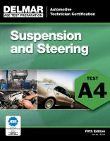 Cover image for Suspension and steering (A4).