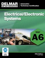 Cover image for Electrical/electronic systems (A6).