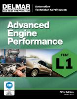 Cover image for Automoblie certification series : advanced engine performance (L1).
