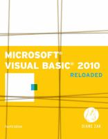 Cover image for Microsoft Visual Basic 2010 : reloaded