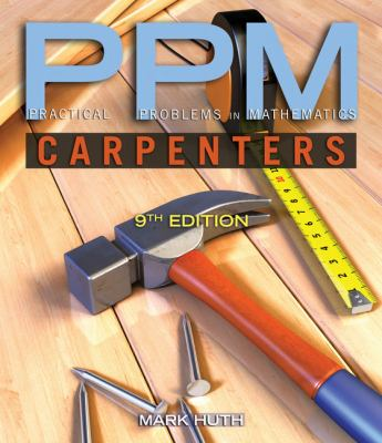 Cover image for Practical problems in mathematics for carpenters : PPM