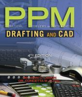 Cover image for PPM : practical problems in mathematics for drafting and CAD