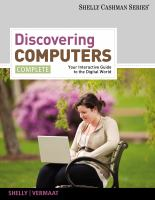 Cover image for Discovering computers : your interactive guide to the digital world, complete