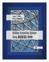Cover image for Building accounting systems using Access 2010