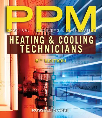 Cover image for Practical problems in mathematics for heating and cooling technicians