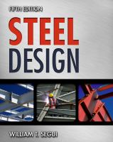 Cover image for Steel design