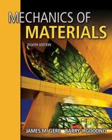 Cover image for Mechanics of materials