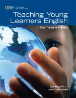 Cover image for Teaching young learners English : from theory to practice