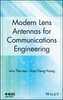 Cover image for Modern lens antennas for communications engineering