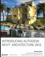 Cover image for Introducing Autodesk Revit Architecture 2012