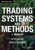 Cover image for Trading systems and methods