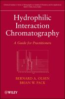 Cover image for Hydrophilic interaction chromatography : a guide for practitioners
