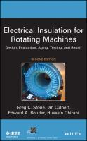Cover image for Electrical insulation for rotating machines: design, evaluation, aging, testing and repair