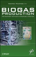Cover image for Biogas production : pretreatment methods in anaerobic digestion