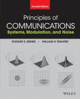 Cover image for Principles of communications : systems, modulation, and noise