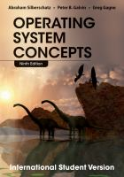 Cover image for Operating system concepts