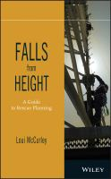 Cover image for Falls from height : a guide to rescue planning