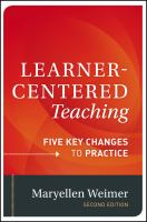 Cover image for Learner-centered teaching : five key changes to practice
