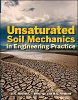 Cover image for Unsaturated soil mechanics in engineering practice